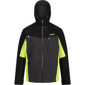 Regatta Birchdale Veste Shell Imperméable Homme, ash/black